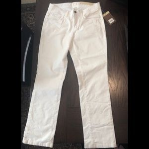 Off white cord pants-